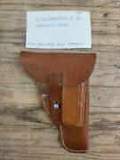 Ww2 German Schamback And Co Berlin 1942 Leather Mauser Hsc Eagle Holster Original