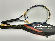 New Old Stock Wilson Hyper Carbon Pro Staff 4.7 Stretch Grip Size 4 1/8 W/ Case
