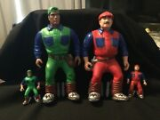 Super Mario Brothers Collectible Figures X4 250
