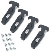 4pc Rubber T-latch Tool Box Cooler T-handle Hasp Draw Latch For Golf Cart Trucks