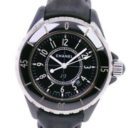 J12 Watches Stainless Steel/leather Quartz Women Blackdial