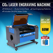 Omtech 20x28 Inch 60w Co2 Laser Engraver Cutter Marker With Cw5202 Water Chiller