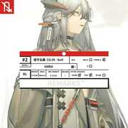 Actual Ark Knights Tomorrow's Norizc Line Life Poster Vol.2 Saria Silence Doctor