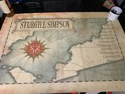 Sturgill Simpson A Sailorand039s Guide To Earth 2016 Concert Poster