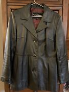 Wilsons Leather Jacket, Womens, Size M.