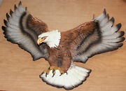 Bossons Americian Bald Eagle Wall Hanging Hand Painted Model England