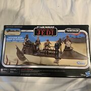 Star Wars Vintage Collection Tatooine Skiff Vehicle Mib From Return Of The Jedi