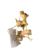 2013 Jim Shore Rudolph Traditions Clarice 1st Christmas Dangle Ornament 4034896