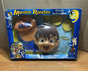 Vtg Monster Rancher Genki Action Set Costume Role Play See Pictures 2000 Tecmo