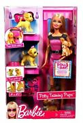 Barbie And Potty Training Pups 2009 Doll