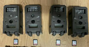 4 Pack Wildgame Micro Trail Cams With 32gb Sd Cards