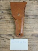 Original Wwii Us Colt 1911 Leather Holster By Joseph H Mosser 1942 Wwii Military