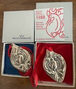 Wallace Grand Baroque Sterling Silver Christmas Ornaments - 12 Days Of Christmas