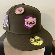 Capsule Hats Exclusive Chicago Cubs No Bad Brims 5950 New Era Fitted Sz 7 1/8