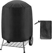 Bbq Grill Cover For Electric Weber Charcoal Kettle Black Smoker Round Grills