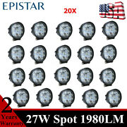 20x 27w Led Work Lights Spot Toyota Bumper Ford Chevrolet Cube Pods 18/36w New