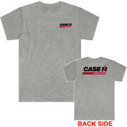Case Ih Tractor Logo Menand039s Grey T-shirt Size S To 5xl