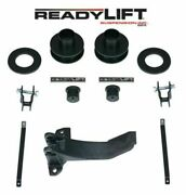 Readylift 2.5 Front Leveling Kit W/ Track Bar Bracket For 05-07 F350 F450 4wd