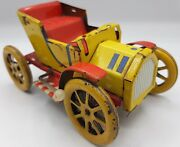 Old Metal Tin Toy Car 1910s Friction Vintage Ford T Collectible Antique Vehicule