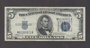 Usa P.77-0971 5 Dollars 1934c Silver Certificate Crisp Very Fine Low Shipping