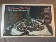 Dept 56 All Around The Park Village Animated Accessory Set New In Box Sealed