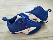 New Reebok Answer 4 Allen Iverson Rare Royal Blue Menand039s Size 7 Womenand039s Size 9