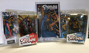 2the Art Of Spawn Issue 7 Cover Art Figurine 2005 Todd Mcfarlane Toys W/ Comic