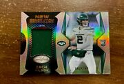 2021 Panini Certified Zach Wilson Rookie New Generation Patch Rc 57/249 Jets