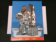 Vintage 1970's Judy Educational Puzzle - Usa Astronaut Puzzle - New/sealed