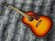 Epiphone Masterbuilt Texan Faded Cherry Aged Acoustic Guitar Japan Shipped