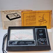 Sears Engine Analyzer 12 Volt 161-2161 Vintage Ignition System W/ Owners Manual