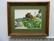 Aiden Lassell Ripley Rocky Pasture 8x10 Framed 3.5 358