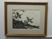 Aiden Lassell Ripley Pair Of Grouse 11x14 Etching Reproduction 5.25se771