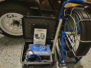 100and039 Pb-mycro Drain Pipe Inspection Sewer Camera