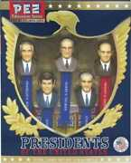 Presidents Of The United States Volume 7 Pez Limited Edition Collectible Gift