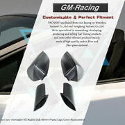 Dcf Matte Side Mirror Frame Caps Cover Replacement For Aventador All Models