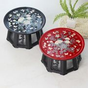 Round Mother Of Pearl Coffee Table New Korean Traditional Antique Oriental Home