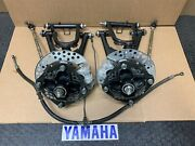 88-06 Yamaha Blaster Yfs200 A Arms With Disc Brakes Complete Special Edition