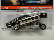Drag Strip Demons Plueger And Gyger And03971 Ford Mustang F-car 1/64 Hot Wheels 3