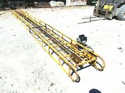 Used 24 Ft Square Hay Bale Elevator With Motor Free 1000 Mile Delivery From Ky