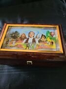 Bradford Exchange Wizard Of Oz, Off To See The Wizard Jewelry Music Box