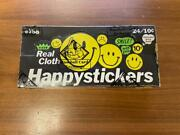 Vintage 1970s Fleer Happy Stickers Unopened Wax Box Full Rare And Bbce Sealed