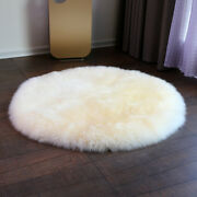 Pure Wool Blanket Fur Cashmere Winter Thick Bed Cover Bed Mat Round Carpet Rug