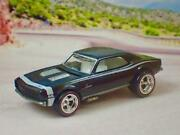 Hot Wheels 1967 67 Camaro Ss Real Rider 1/64 Scale Limited Edition N