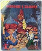 Tsr Basic Dandd Dungeons And Dragons - Basic Set 7th W/b2 And Wizard Logo Sw