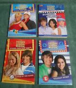 High School Musical Books 1-2-5-12, Stories From East High , Lot Of 4, Very Good