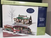 Dept 56 Snow Village Home For The Holidays Express Musical Motion Gift Set