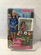 Barbie You Can Be Anything Soccer Coach Barbie Doll And Playset From Mattel