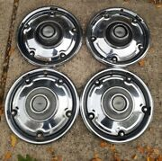 4 Four 73-75 Chevy Deluxe Hubcaps C10 Pickup Truck 15 Wheel Covers Oem 69-75