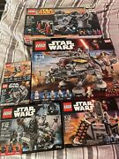 Lego 75157 Star Wars Captain Rexand039s At-te With 5 Other Star Wars Sets 75093